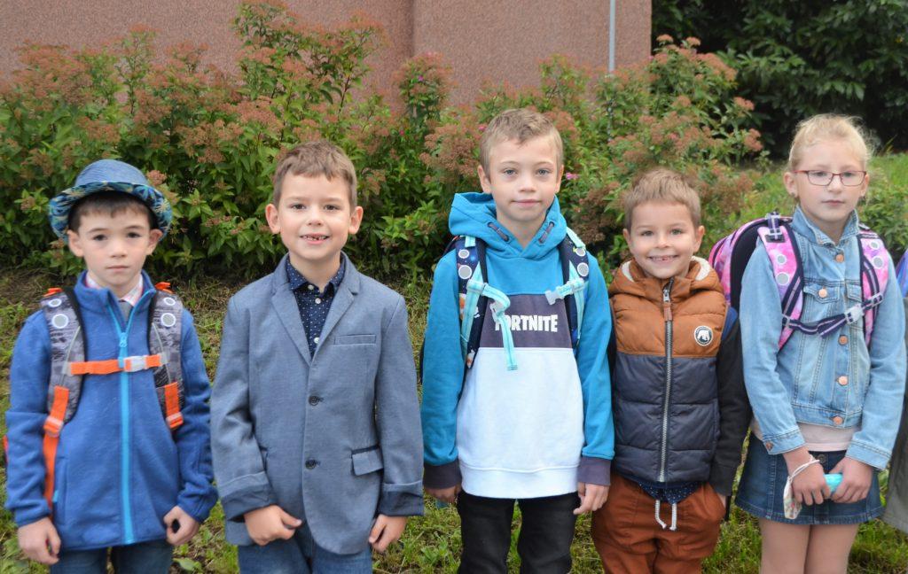 1. září – poprvé do školy