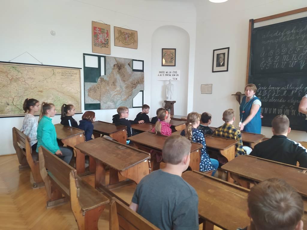Exkurze V. A a V. B do Muzea J. A. Komenského v Přerově