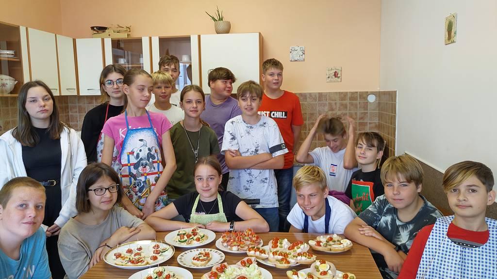 Příprava pokrmů – studená kuchyně