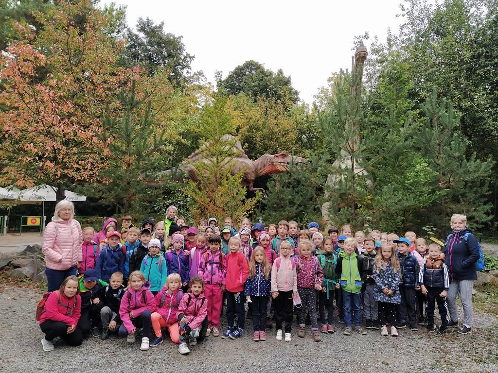 1.-3. třída v Dinoparku ve Vyškově
